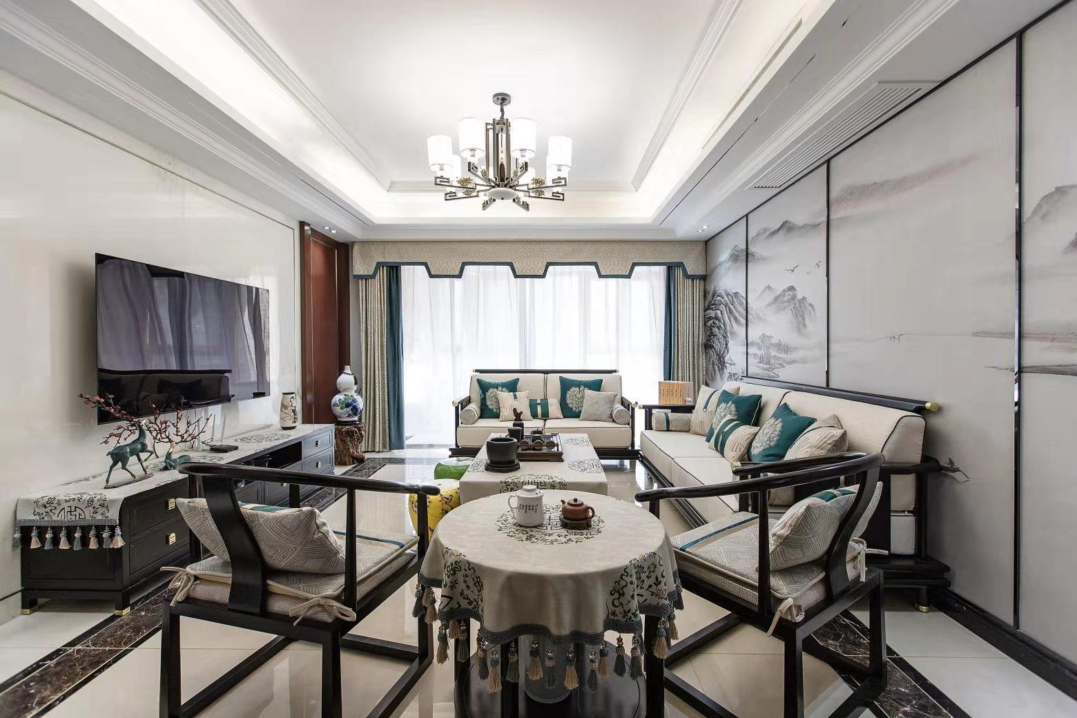 3室2卫3厅151平米新中式风格