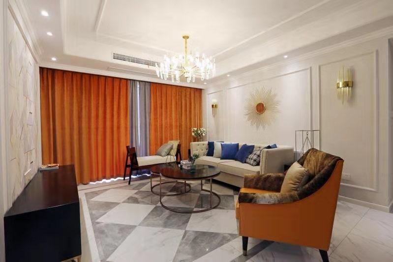 3室2卫2厅126平米美式风格