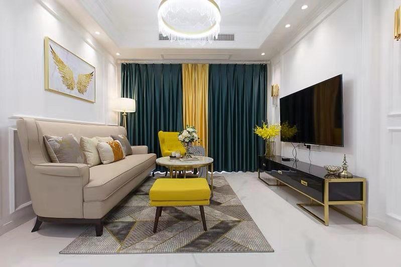 4室2卫2厅90平米现代风格