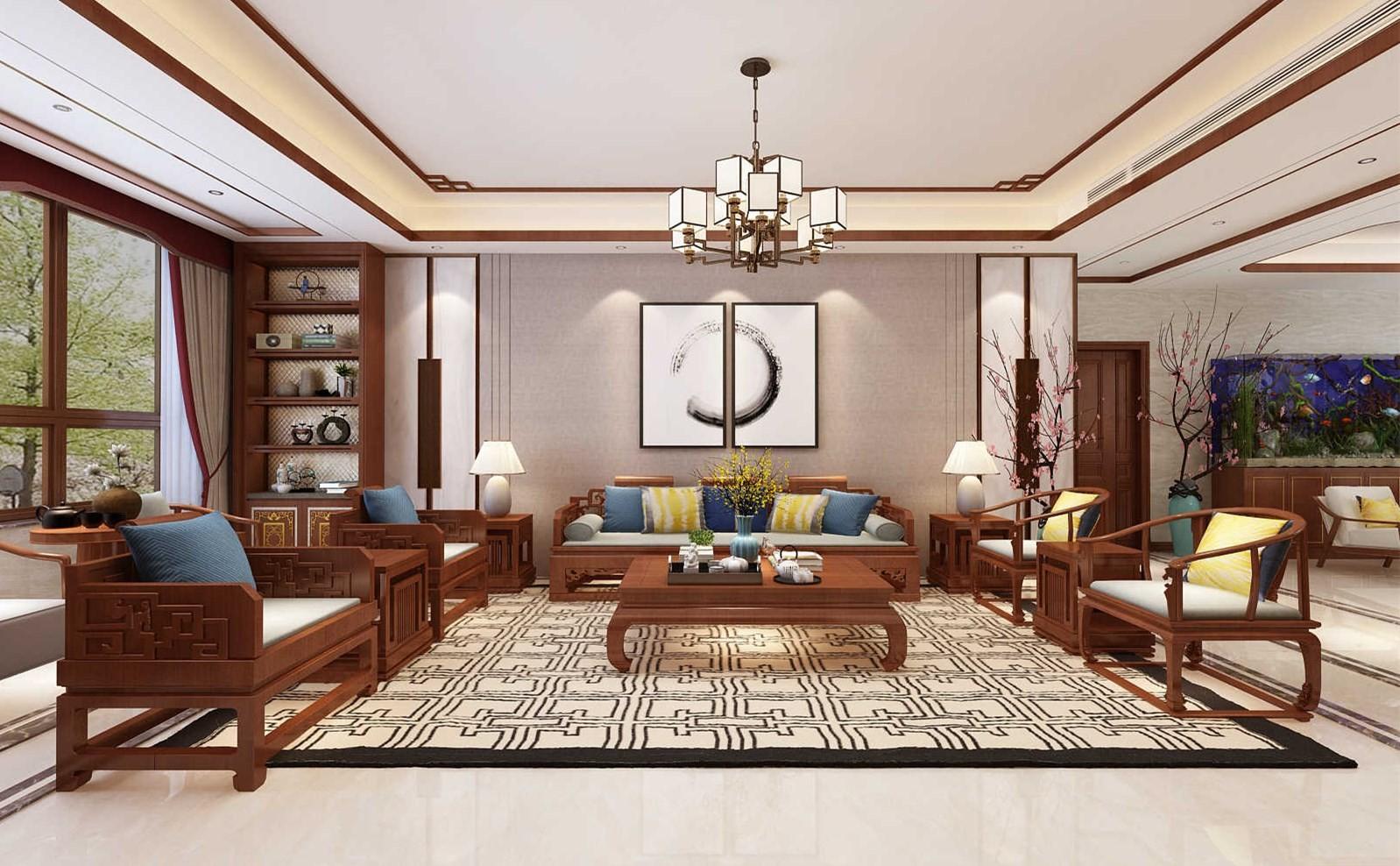 黄金99 黄水郡新中式风格设计