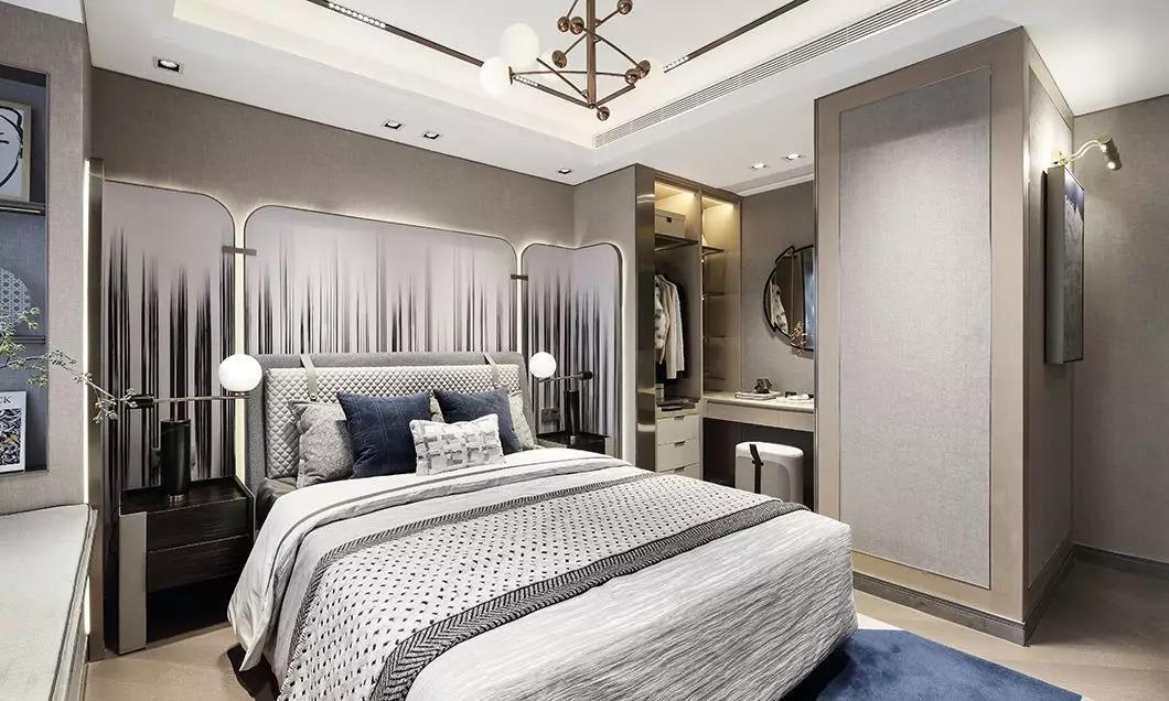 2020新中式卧室装修设计图片 2020新中式吊顶效果图