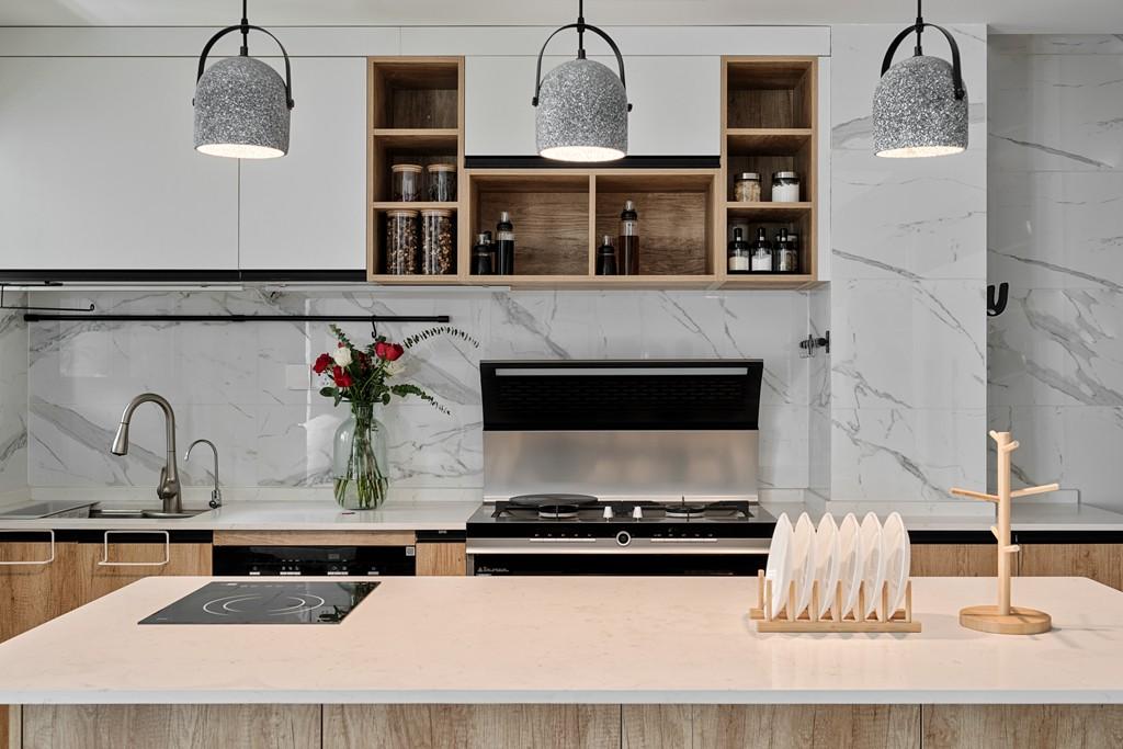2020简约厨房装修图 2020简约背景墙装修效果图大全