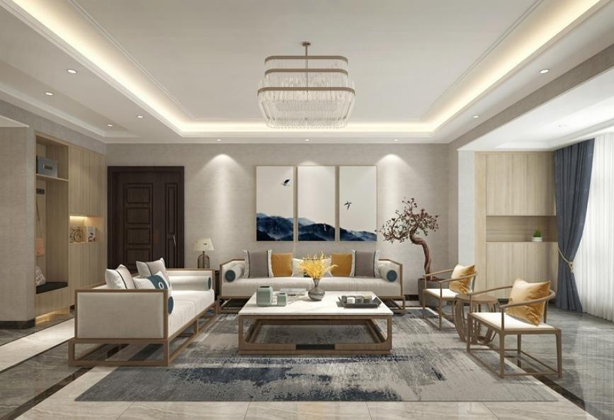2020现代客厅装修设计 2020现代照片墙装修效果图大全