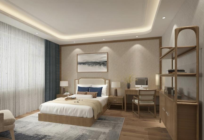 2020现代卧室装修设计图片 2020现代床图片