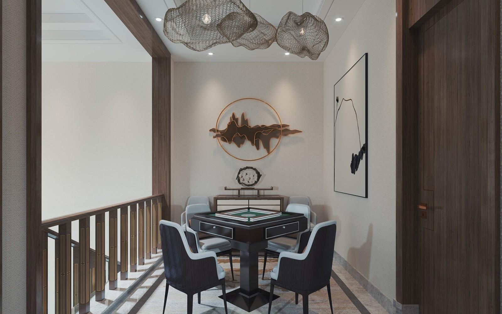 2020新中式起居室裝修設計 2020新中式細節裝修效果圖大全