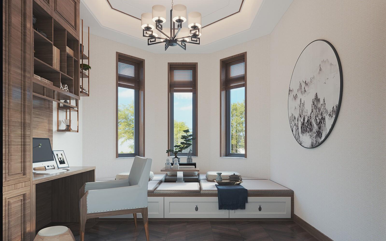 2020新中式卧室装修设计图片 2020新中式榻榻米装修设计