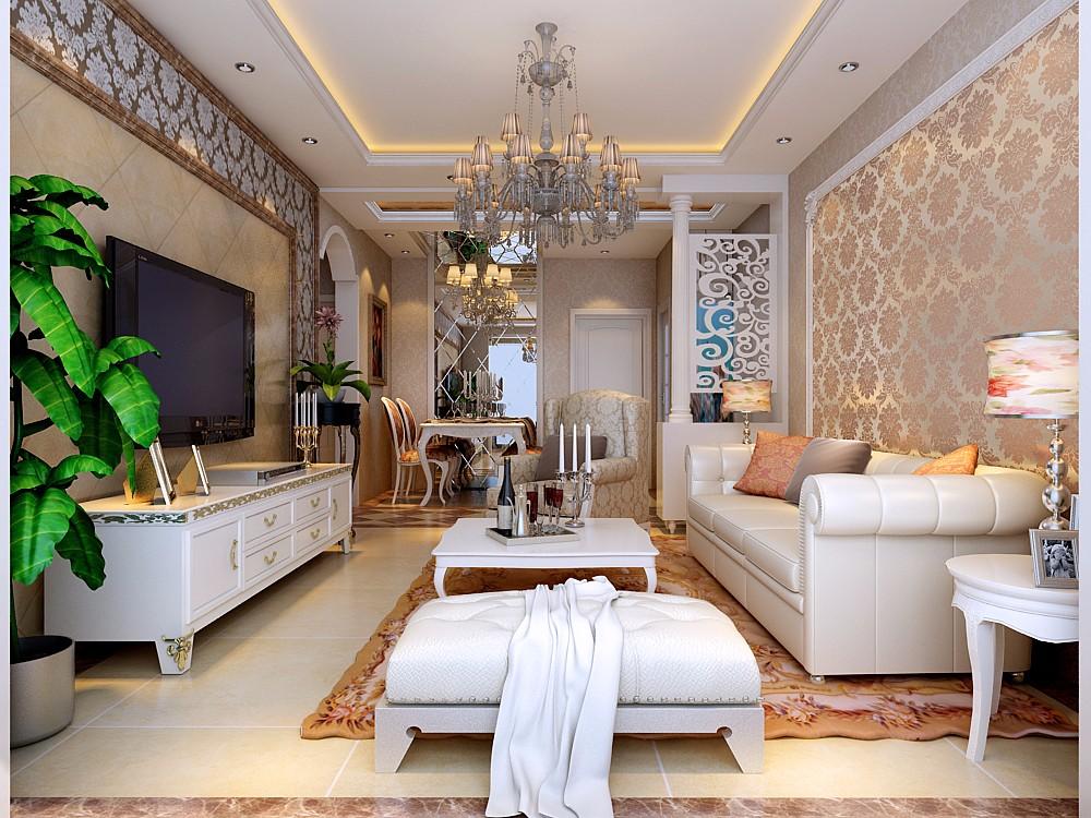 2020簡歐客廳裝修設計 2020簡歐細節裝飾設計