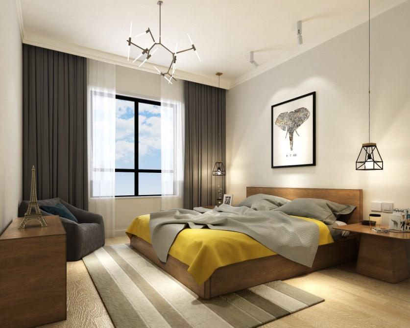 2020简欧卧室装修设计图片 2020简欧床图片
