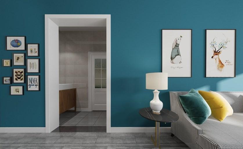 2020简欧客厅装修设计 2020简欧照片墙装修效果图大全