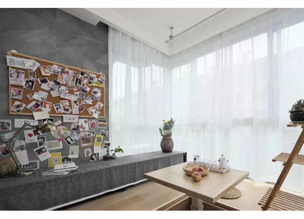 2020日式起居室裝修設計 2020日式背景墻裝修設計圖片