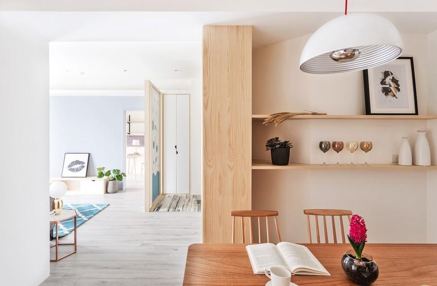 2020现代简约客厅装修设计 2020现代简约书桌装修图片