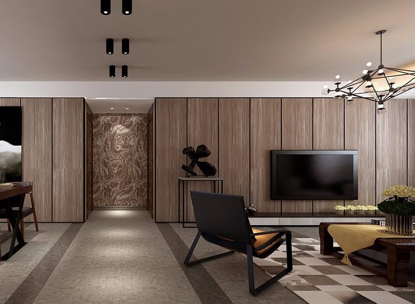 2020简单150平米效果图 2020简单四居室装修图