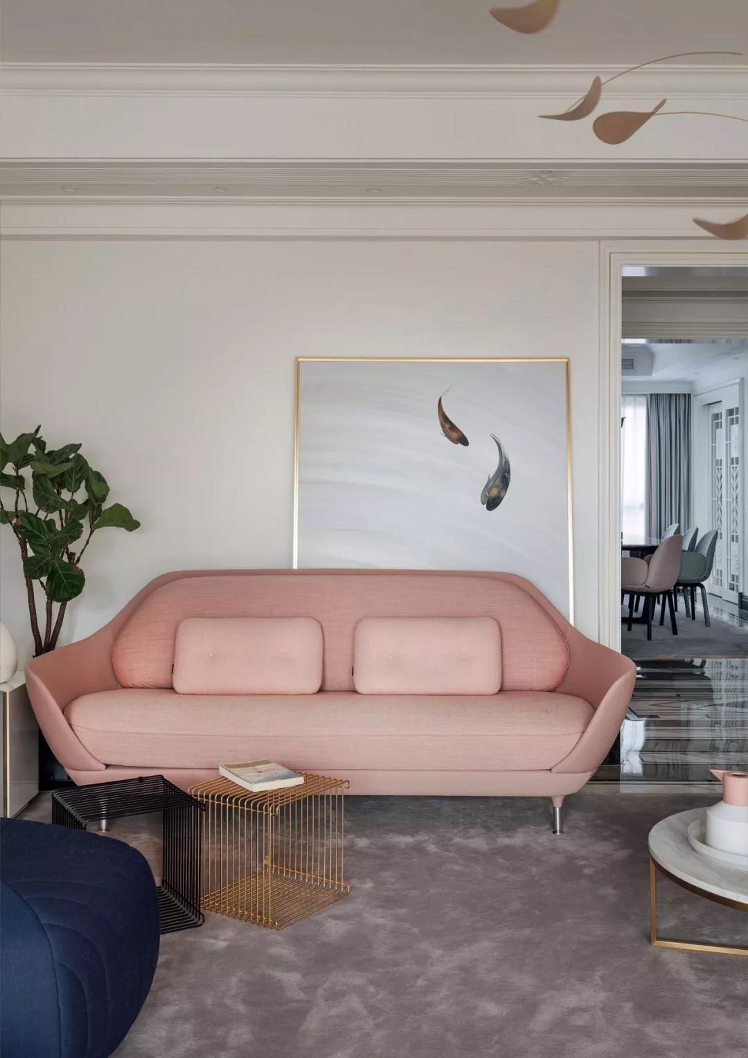 2020混搭客厅装修设计 2020混搭沙发装修设计