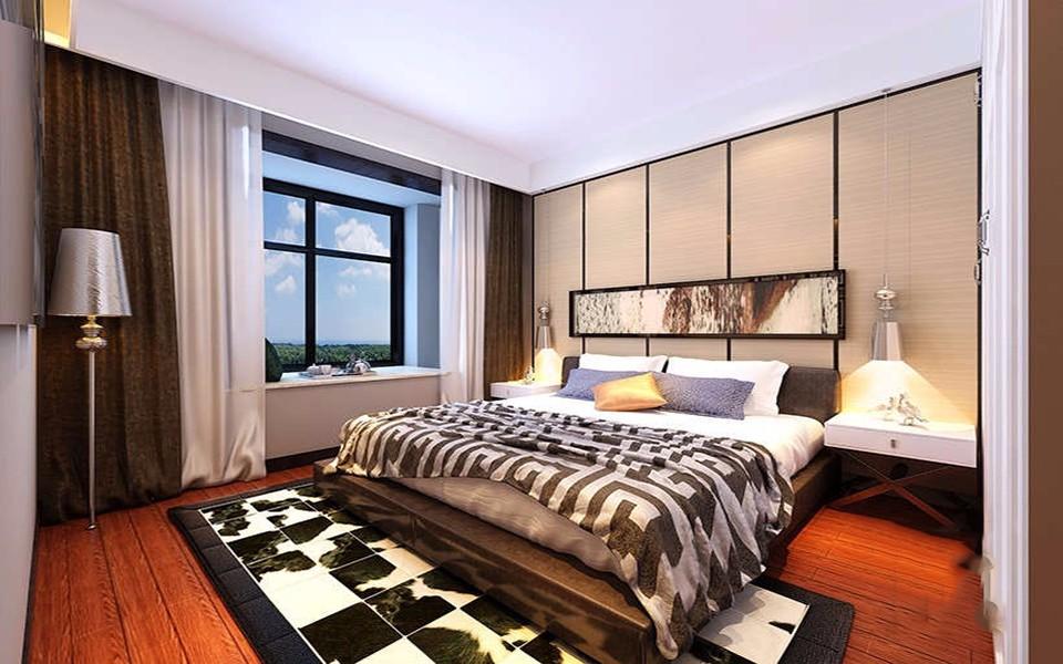 2020現代簡約110平米裝修設計 2020現代簡約二居室裝修設計