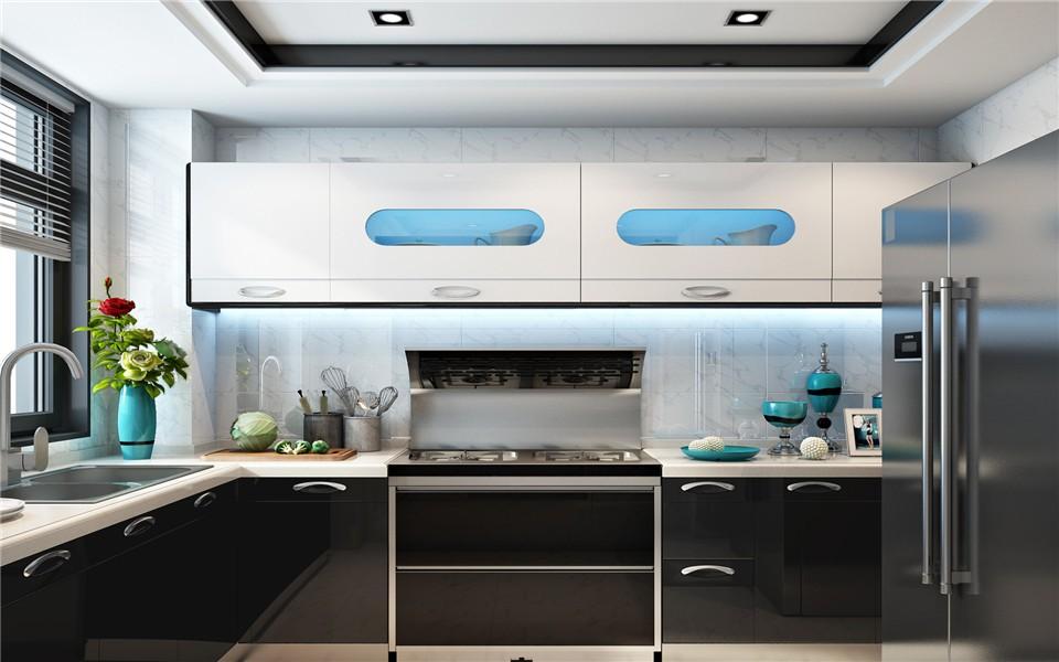 2020后现代厨房装修图 2020后现代灶台装修图片