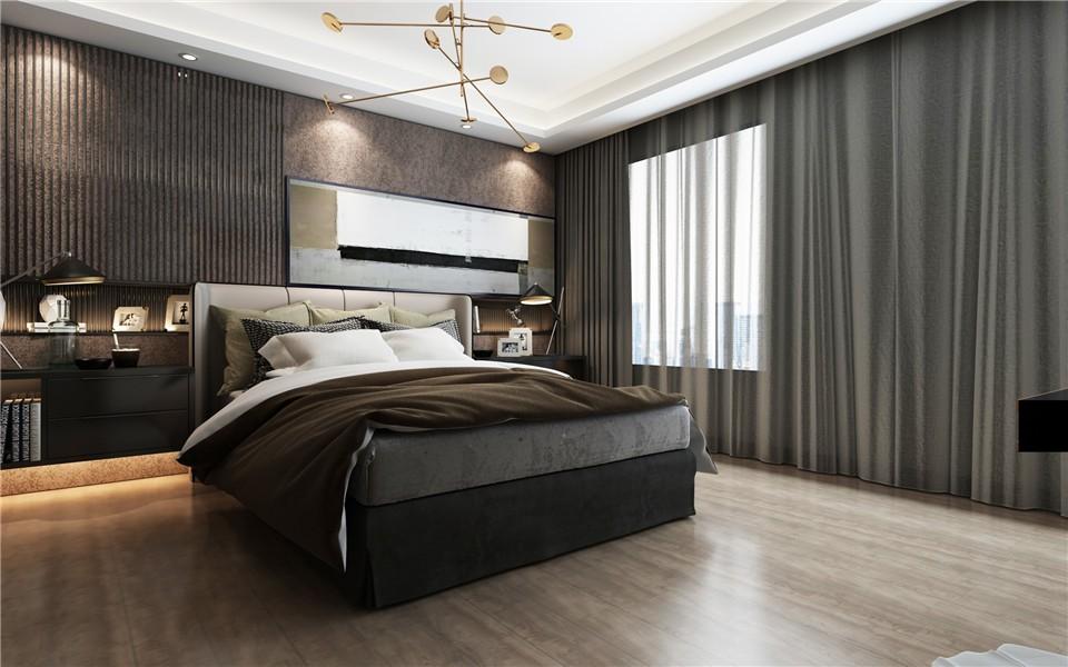 2020后现代卧室装修设计图片 2020后现代床图片
