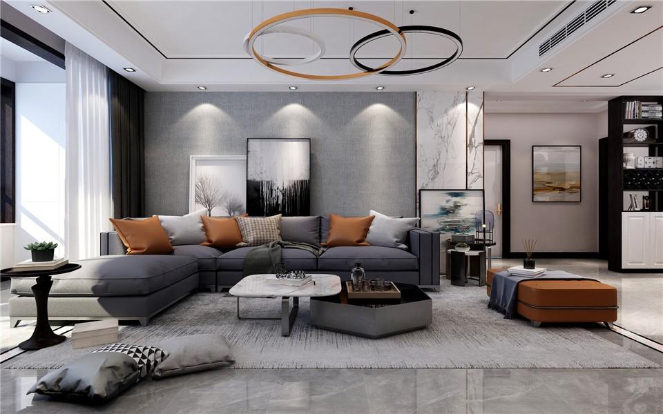 2020后现代客厅装修设计 2020后现代沙发装修设计