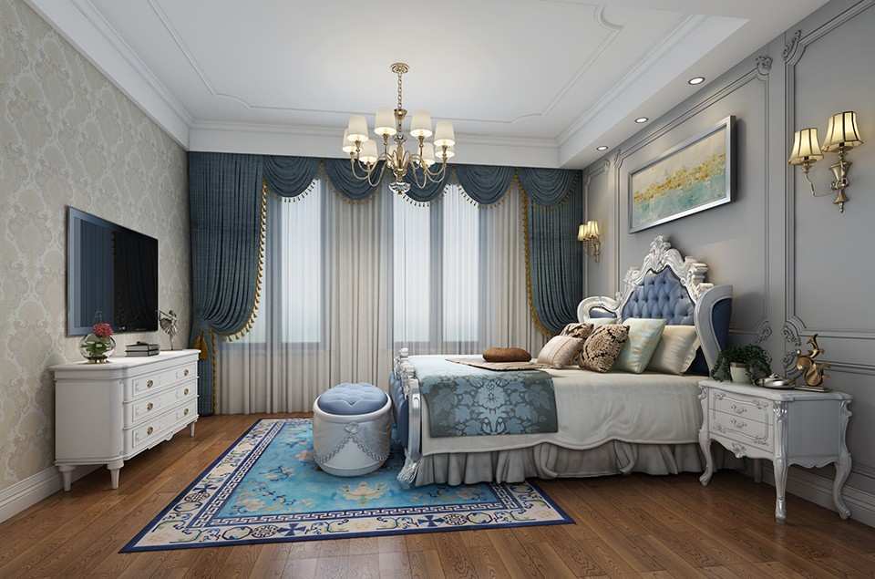 2020美式240平米裝修圖片 2020美式別墅裝飾設計