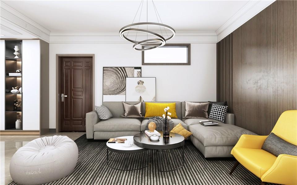 2020現代110平米裝修設計 2020現代樓房圖片