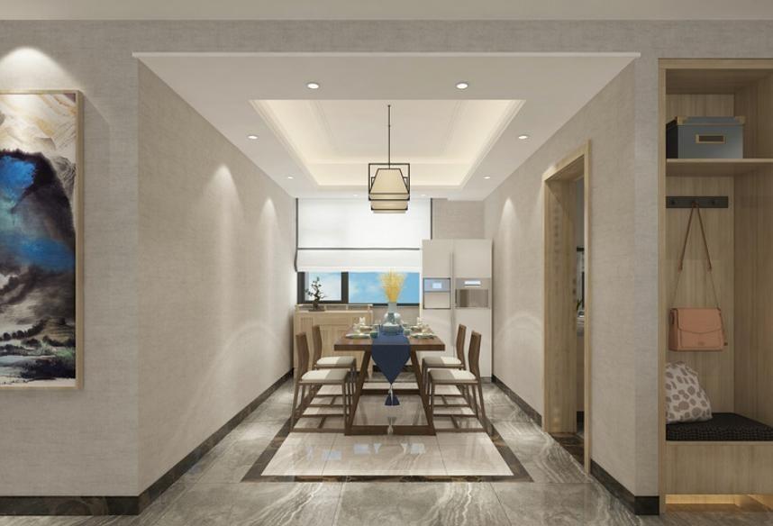 2020新中式110平米裝修設計 2020新中式四居室裝修圖