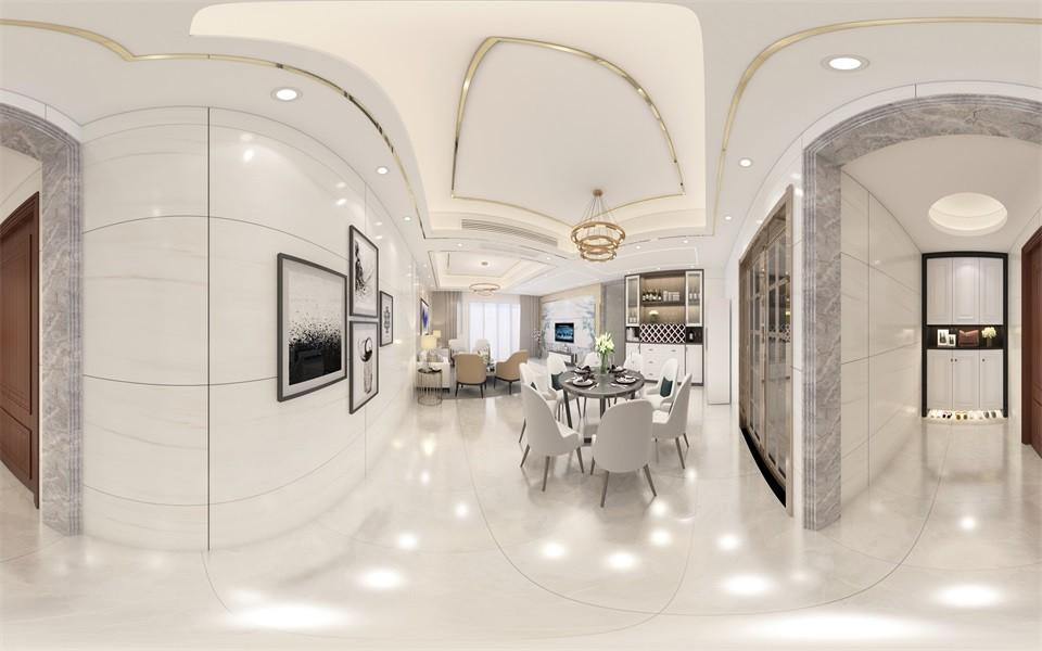 2020簡歐起居室裝修設計 2020簡歐細節裝修效果圖大全