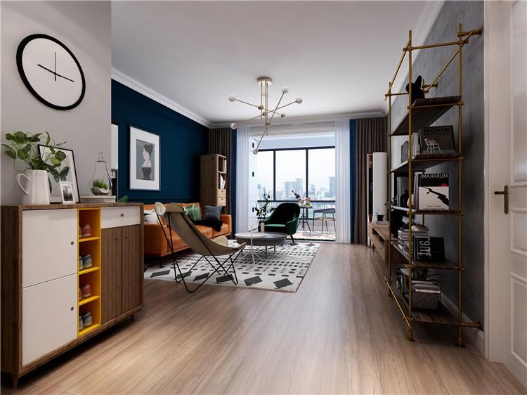 2020北歐90平米裝飾設計 2020北歐樓房圖片