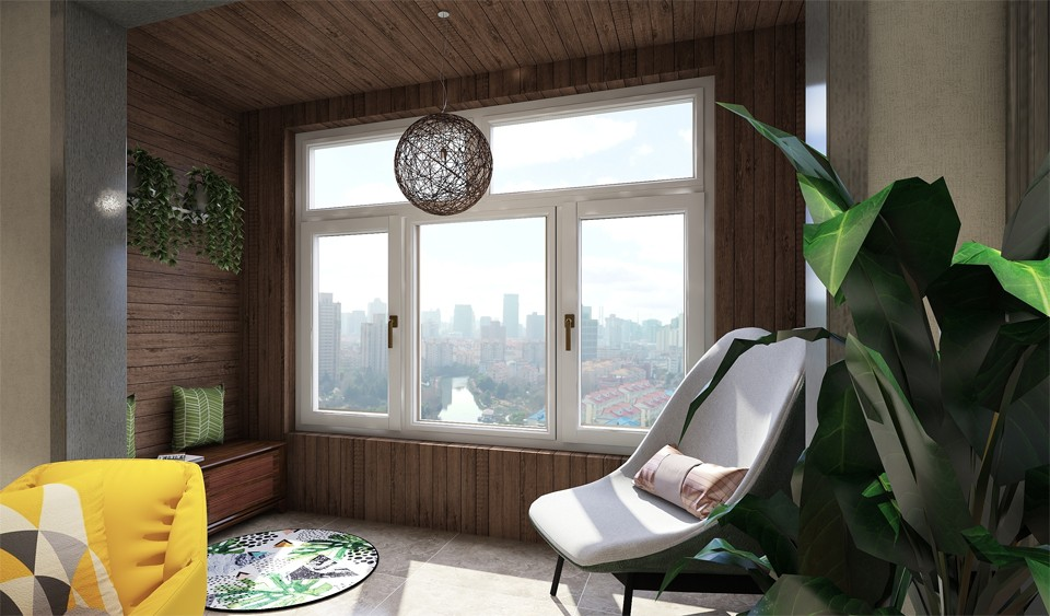2020现代阳台装修效果图大全 2020现代灯具设计图片