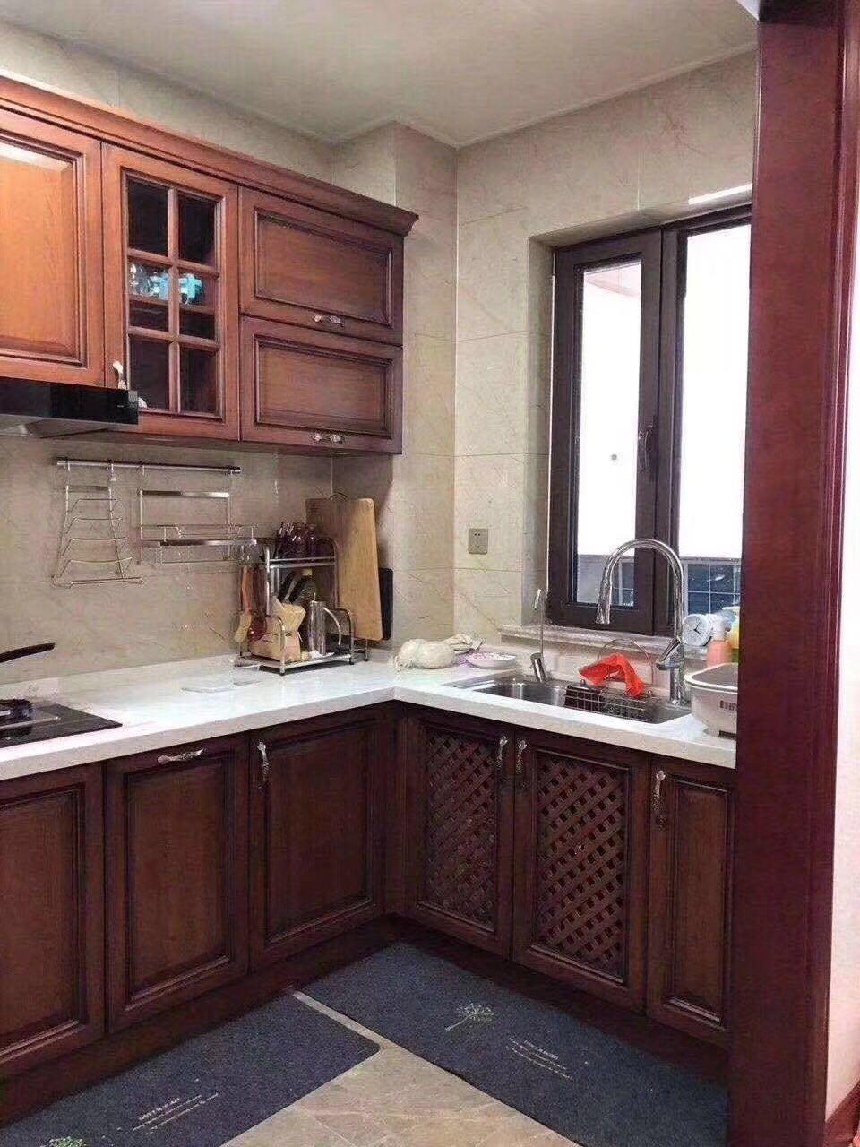 2020新中式廚房裝修圖 2020新中式櫥柜裝修效果圖片