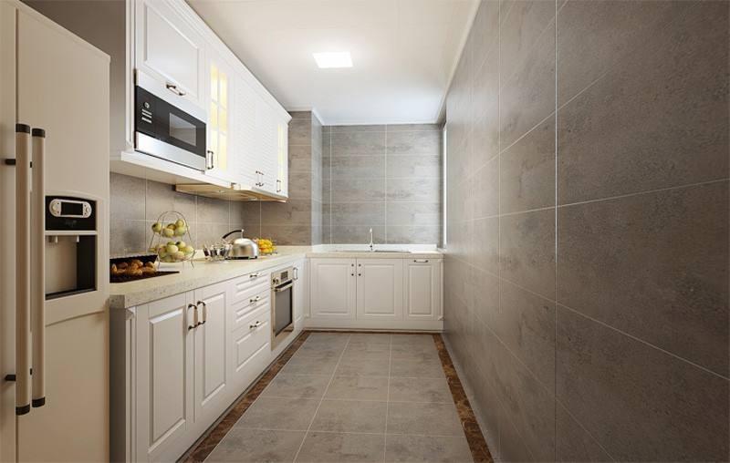2021简约厨房装修图 2021简约厨房岛台装饰设计