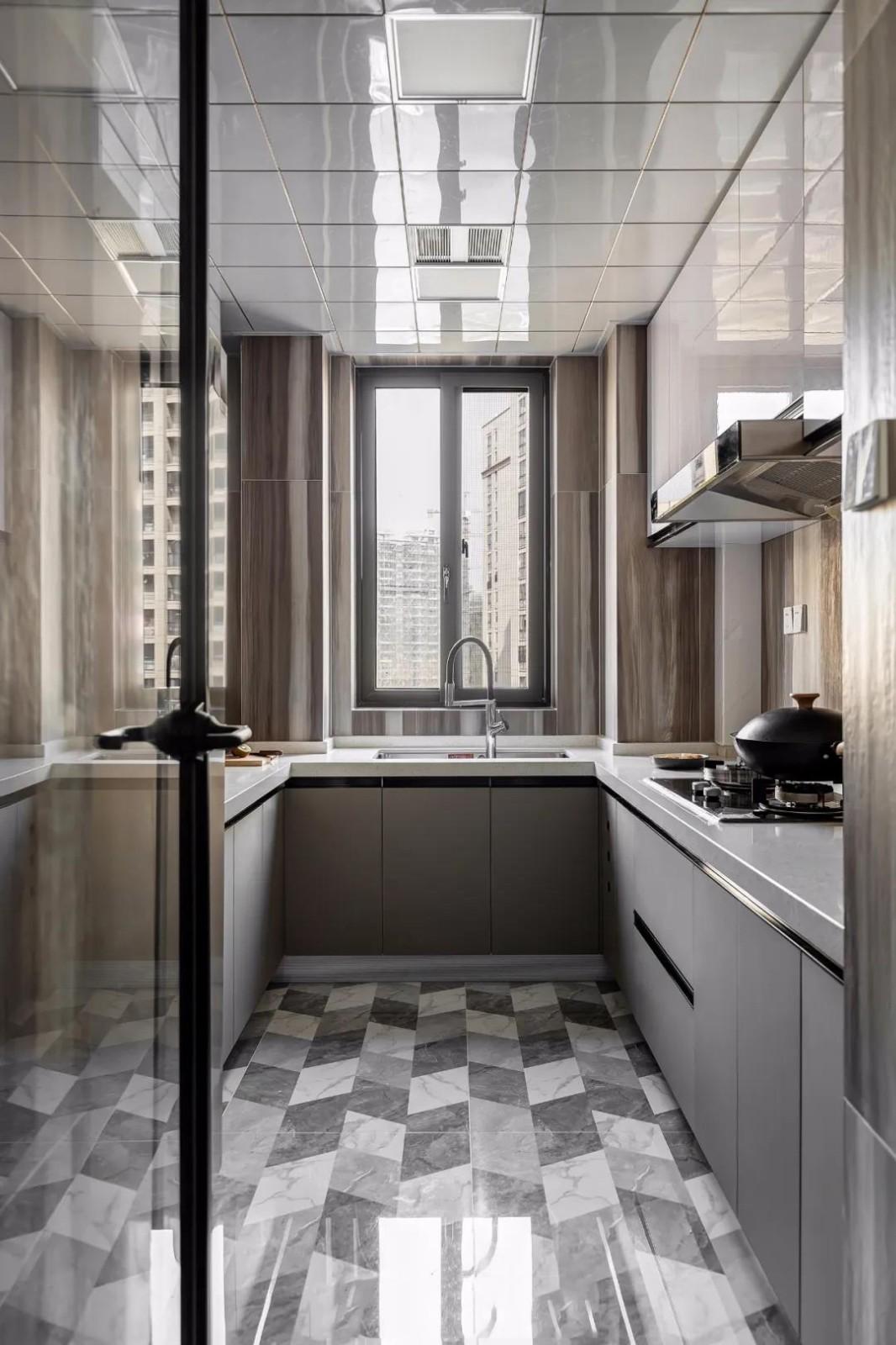 2020簡約廚房裝修圖 2020簡約地磚裝修設計