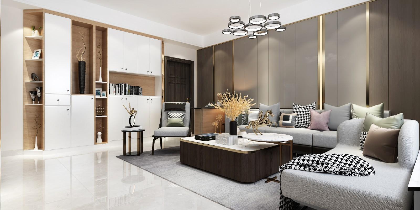 2020簡約110平米裝修設計 2020簡約套房設計圖片