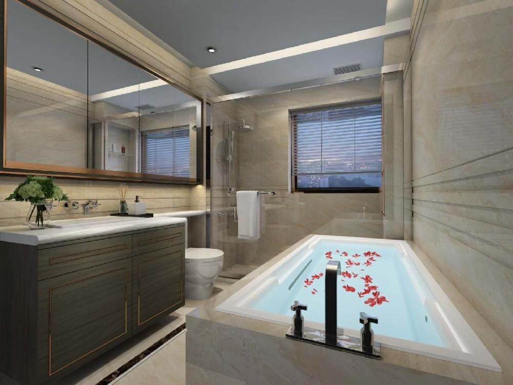 2020混搭衛生間裝修圖片 2020混搭浴室柜裝修圖片