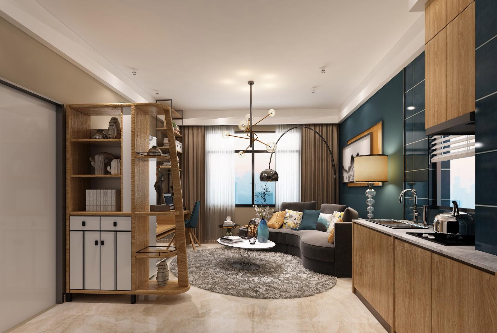 2020宜家60平米以下裝修效果圖大全 2020宜家一居室裝飾設計