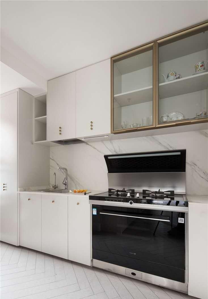 2020法式廚房裝修圖 2020法式櫥柜裝修效果圖片
