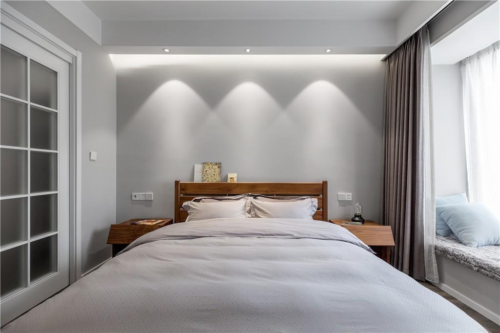 2020現代臥室裝修設計圖片 2020現代推拉門裝修圖片