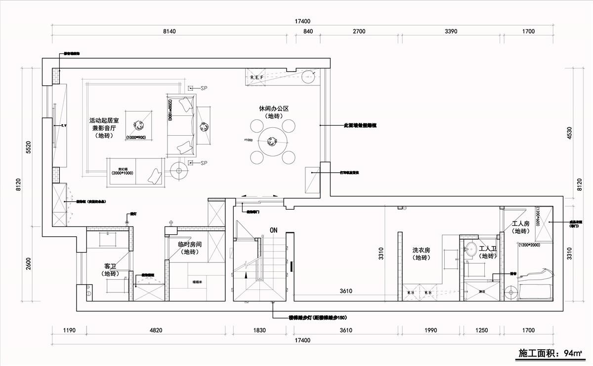 2020現代地下室效果圖 2020現代電視背景墻圖片