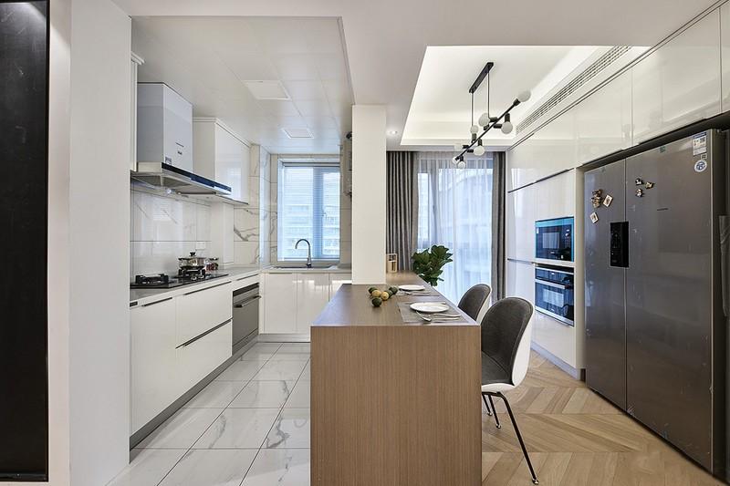 2020北歐廚房裝修圖 2020北歐櫥柜裝修效果圖片