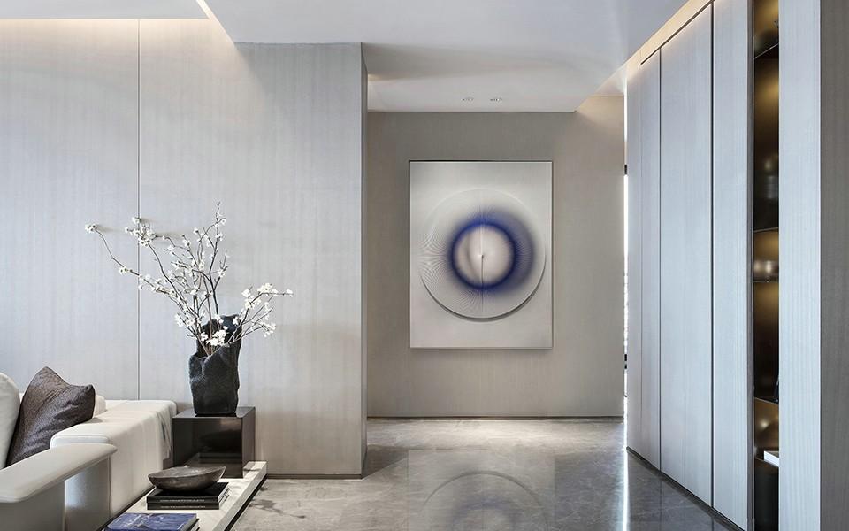 2020中式客廳裝修設計 2020中式過道圖片