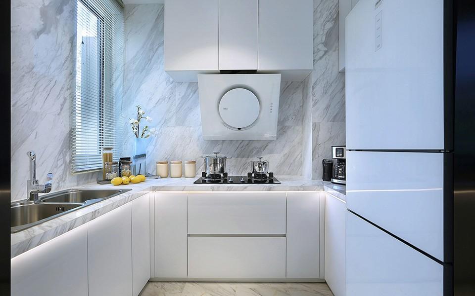 2020中式廚房裝修圖 2020中式櫥柜裝修效果圖片