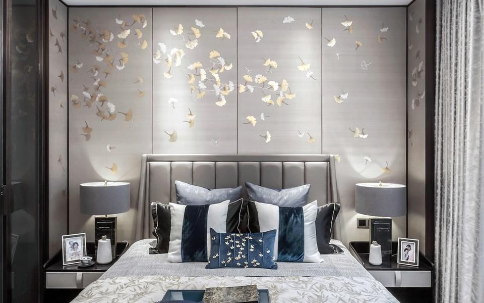 2020中式卧室装修设计图片 2020中式背景墙装饰设计