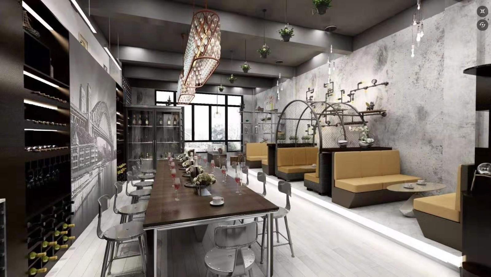 2020新中式300平米以上裝修效果圖片 2020新中式樓房圖片
