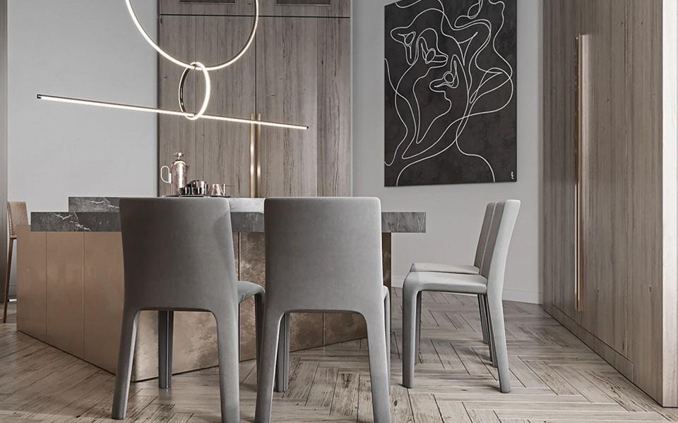 2020歐式110平米裝修設計 2020歐式公寓裝修設計
