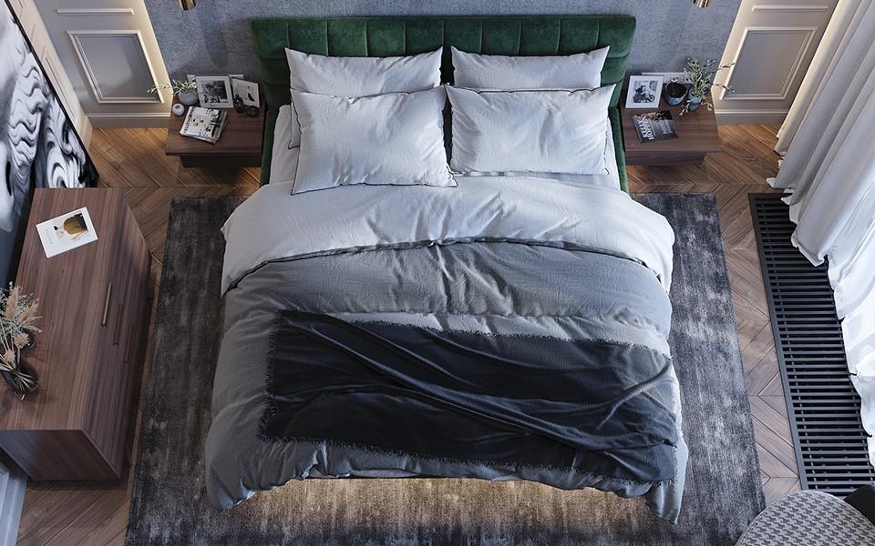 2020歐式臥室裝修設計圖片 2020歐式床圖片