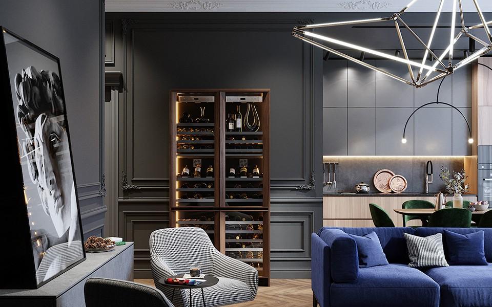 2020歐式客廳裝修設計 2020歐式細節裝飾設計