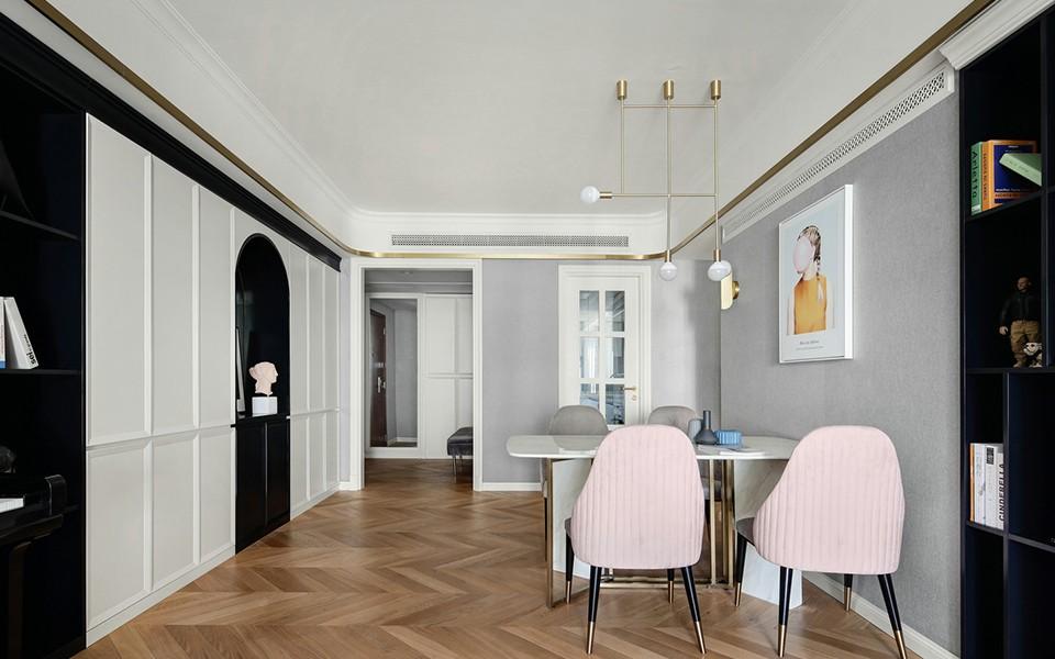 2020欧式150平米效果图 2020欧式二居室装修设计