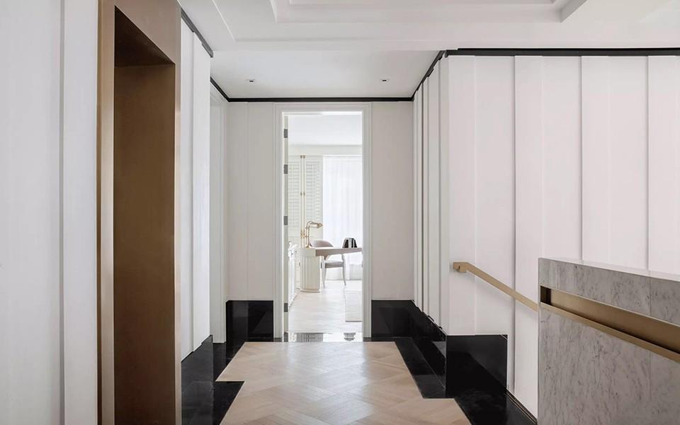 2020歐式客廳裝修設計 2020歐式過道圖片