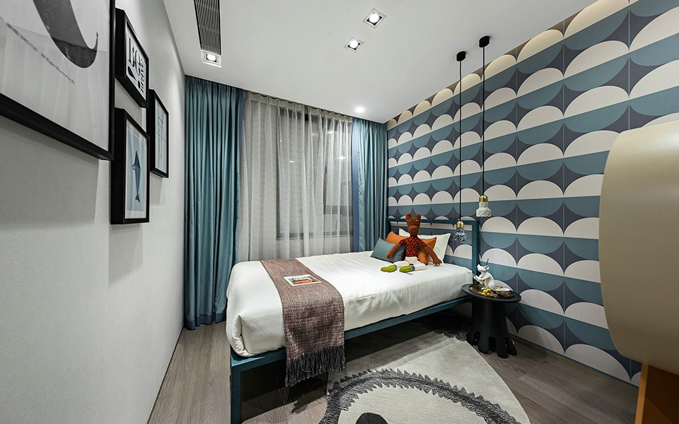 2020現代臥室裝修設計圖片 2020現代床圖片