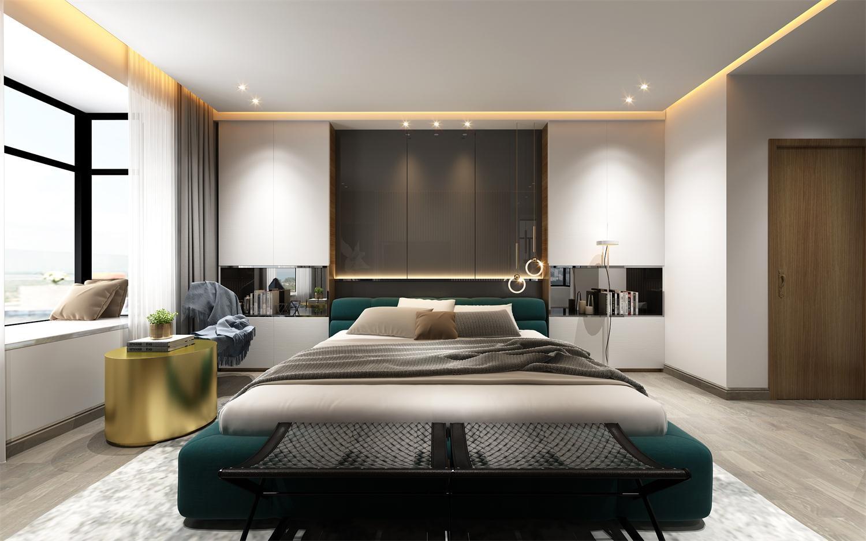 2020現代臥室裝修設計圖片 2020現代背景墻裝飾設計
