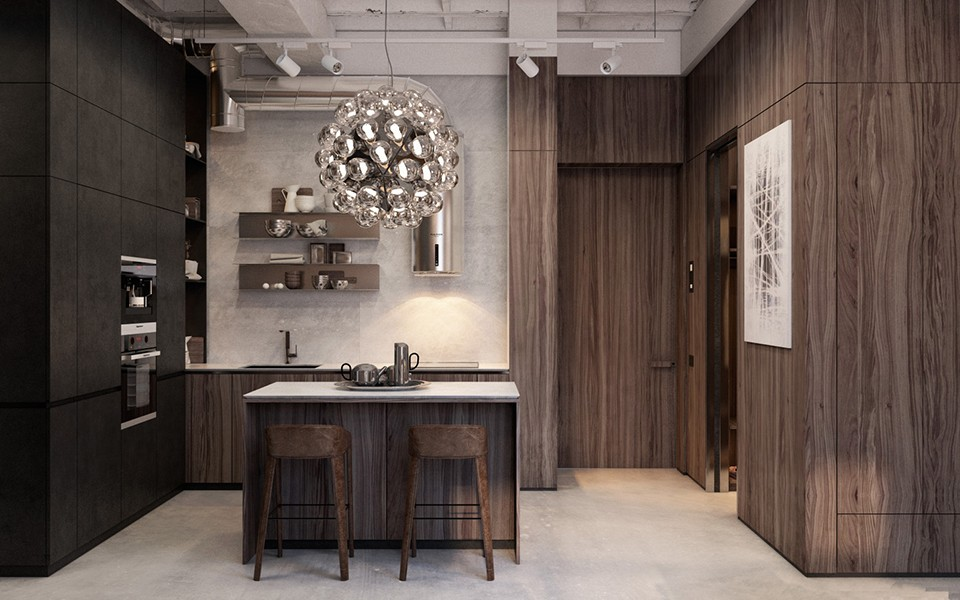 莫斯科公寓設計效果圖