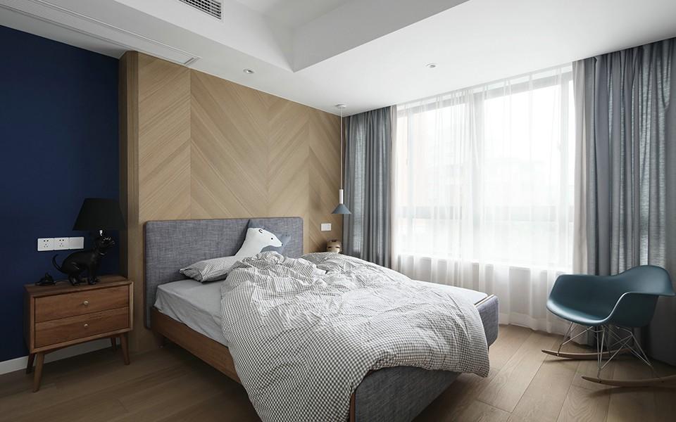 2020北歐臥室裝修設計圖片 2020北歐床圖片